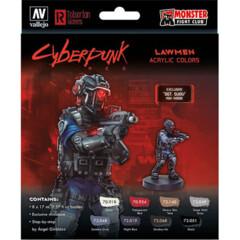 Cyberpunk Paint Set: Combat Zone -Exclusive  Sgt. Suou Mini