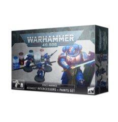 Assault Intercessors + Paints Set