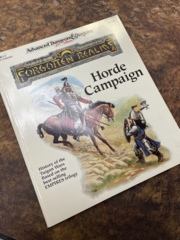 Advanced Dungeons and Dragons 2nd Edition: Forgotten Realms- Horde Campaign