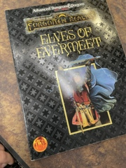 Advanced Dungeons and Dragons 2nd Edition: Elves of Evermeet