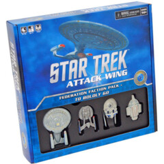 Star Trek Attack Wing: Federation Faction Pack-To Boldly Go