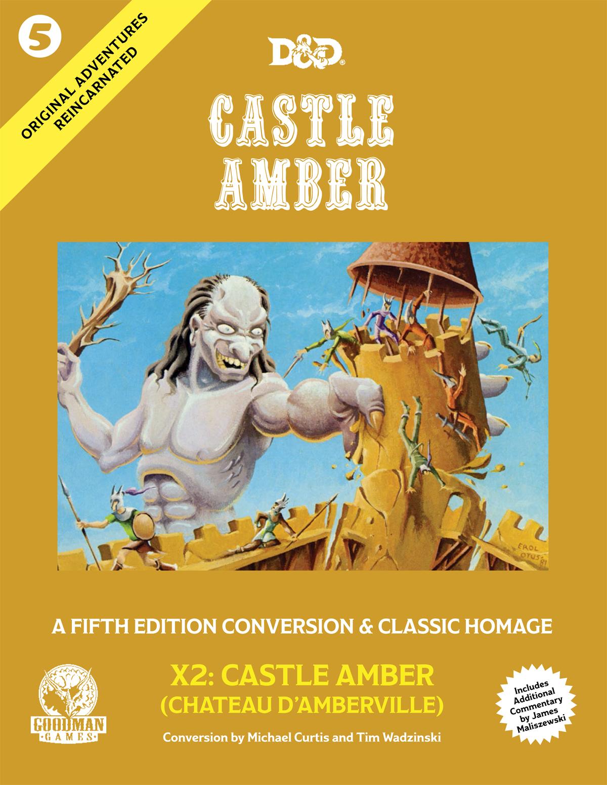 D&D Castle Amber X2: Castle Amber