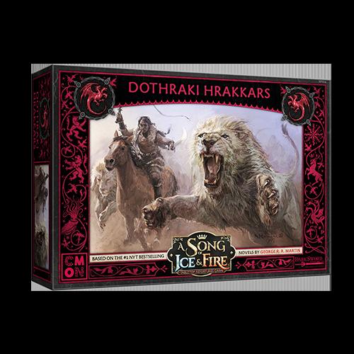 A Song of Ice & Fire - Tabletop Miniatures Game - Dothraki Hrakkars
