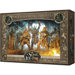 A Song of Ice & Fire - Tabletop Miniatures Game - Free Folk Attachments I