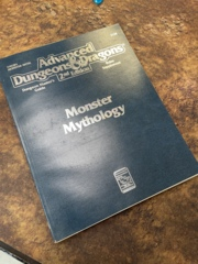 Advanced Dungeons and Dragons 2nd Edition: Monster Mythology