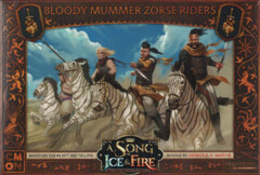 A Song of Ice & Fire - Tabletop Miniatures Game - Bloody Mummer Zorse Riders