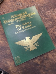 Advanced Dungeons and Dragons 2nd Edition: The Glory of Rome
