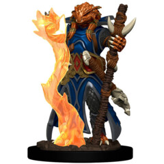 Icons of the Realms Premium Miniatures - Dragonborn Sorcerer Wave 4
