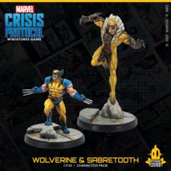 Marvel Crisis Protocol: Wolverine & Sabertooth