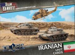 Team Yankee: Oil War - Iranian Unit Cards