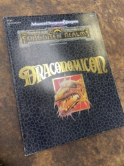 Advanced Dungeons and Dragons 2nd Edition: Forgotten Realms- Draconomicon