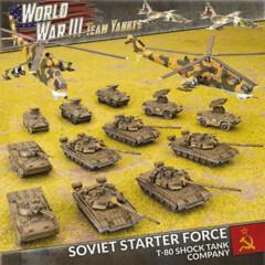 World War III Team Yankee: Soviet Starter Force - T-80 Shock Tank Company