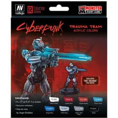 Cyberpunk Paint Set: Combat Zone -Exclusive  Doc Salvage Mini