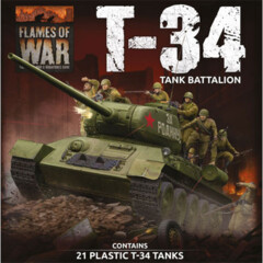 Flames of War: T-34 Tank Battalion