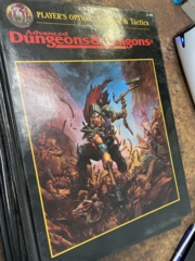 Advanced Dungeons and Dragons: Player's Option: Combat and Tactics