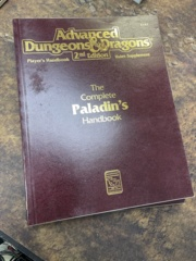 Advanced Dungeons and Dragons 2nd Edition: The Complete Paladin's Handbook