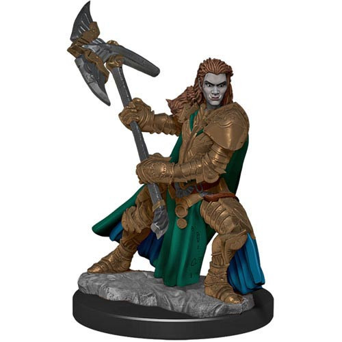 Icons of the Realms Premium Miniatures - Orc Fighter Wave 4
