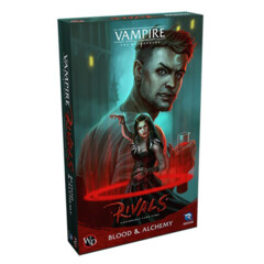 Vampire The Masquerade Rivals: Blood & Alchemy Expansion