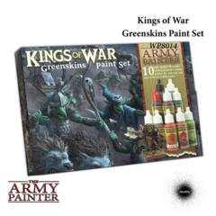 Warpaints: Kings of War Greenskins Paint Set (10)