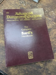 Advanced Dungeons and Dragons 2nd Edition: The Complete Bard's Handbook