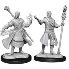 D&D Nolzur's Marvelous Unpainted Miniatures: W14 Half-Elf Wizard (Male)