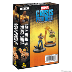 Marvel Crisis Protocol: Luke Cage & Iron Fist Charcter Pack