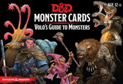 Dungeons and Dragons RPG: Spellbook Cards -Monster Deck Volo's Guide to Monsters (81 cards)