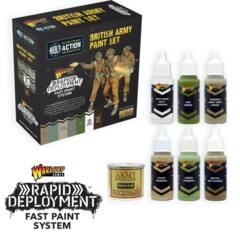 Warlord Games: British Army Paint Set