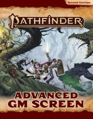 Pathfinder RPG 2nd Edition: Advanced GM Screen