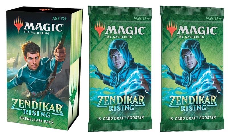 Zendikar Rising Prerelease Pack + 2 Zendikar Rising Draft Boosters