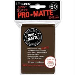 Brown Small Sleeves (Ultra Pro) - Pro Matte