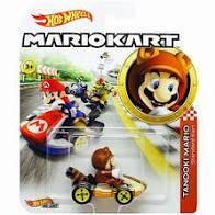 Hot Wheels - Mario Kart - Tanooki Mario