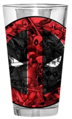 Deadpool: Pint Glass - Action