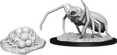 D&D Nolzur's Marvelous Miniatures - Giant Spider & Egg Clutch