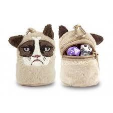 Grumpy Cat Dice Pouch