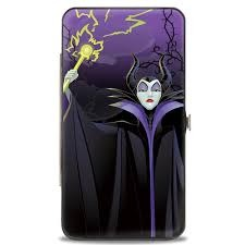 Hinged Wallet - Maleficent