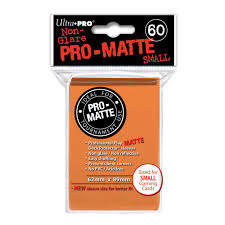 Ultra Pro Pro-Matte Small Sleeves - Orange (60ct)
