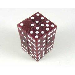 Glitter 16mm 12 Piece Set - Red