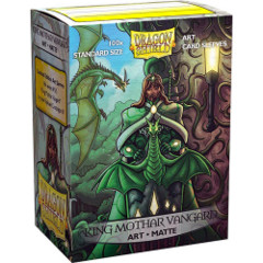 Art  Matte Sleeves - King Mothar Vanguard - Standard Box Sleeves - 100ct