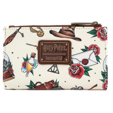 Loungefly - Harry Potter Relic Tattoo Flap Wallet