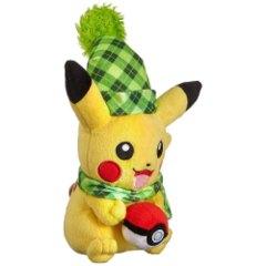 Pokemon Plush - Pikachu Winter