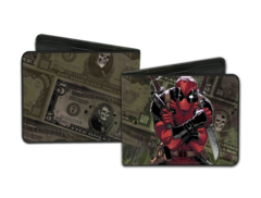 Dead Pool Anti-Hero in Action Bi-Fold Wallet (Marvel)