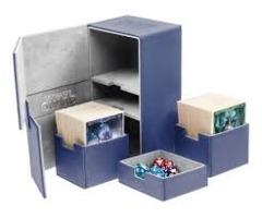 Blue Twin Flip'n'Tray - Deck Box 200ct (Ultimate Guard)