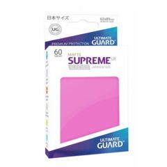 Ultimate Guard Supreme UX Sleeves Japanese Size Pink Matte 60ct