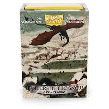 Art Classic Sleeves - Hunters In the Snow - Standard Box Sleeves - 100ct