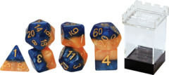 Gate Keeper Games - Halfsies Dice - Kings Dice - 7 Dice Set