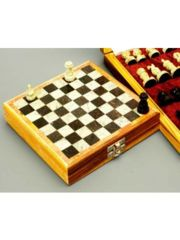 Chess Set: Hand Carved Stone 6 inch