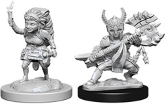 Dungeons And Dragons - Nolzur's Marvelous Unpainted Miniatures - Halfling  Fighter Female