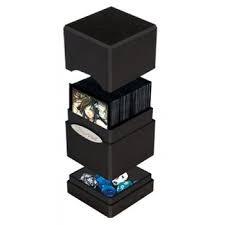 Black Satin Tower (Ultra Pro)