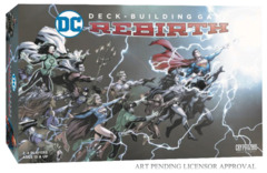 Dc Comics Deck Building - Rebirth